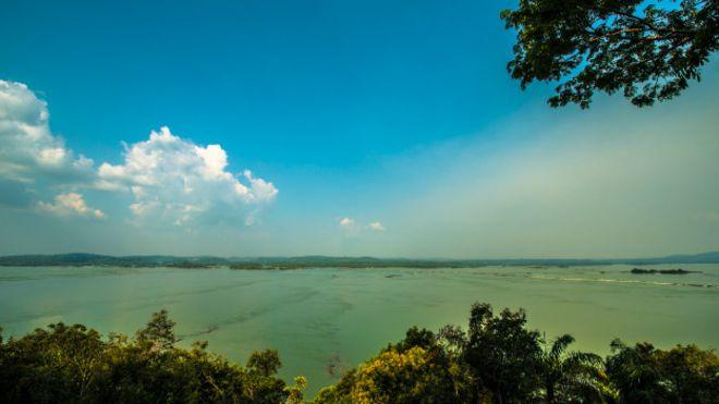 Vista do rio Tapajós; governo planeja usina em uma das regiões mais preservadas da Amazônia