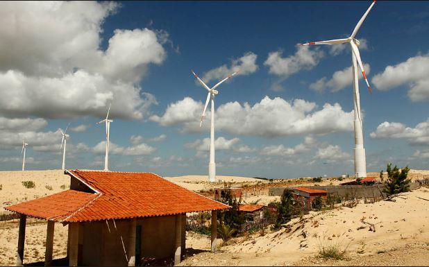 Parque Eólico Taíba - Município de São Gonçalo do Amarante - CE -