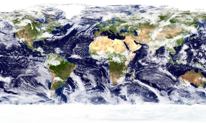 Deslocamento de nuvens globais foi estudado pela Universidade da Califórnia em San Diego - Nasa Goddard Space Flight Center