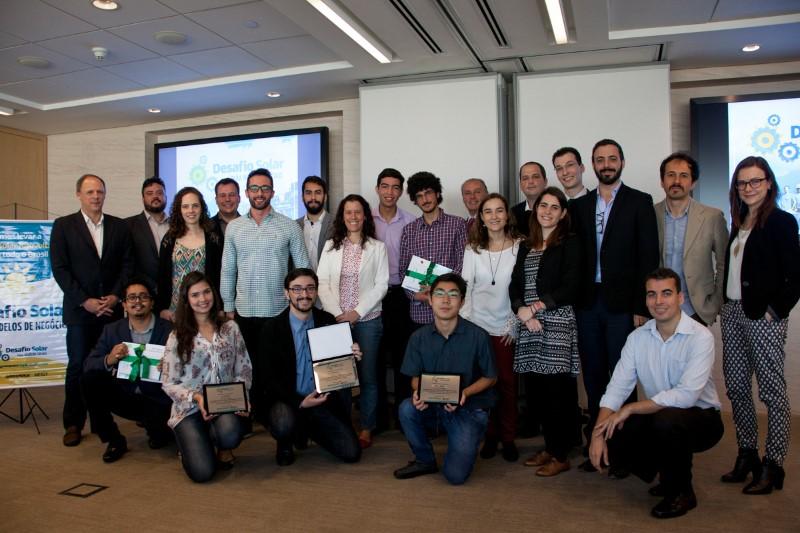 São Paulo, 29 de setembro de 2016, premiação dos grupos finalistas  do Desafio solar para modelos de negócios onde a banca examinadora definiu o primeiro, segundo e terceio colocado. (FOTOS: JULIA MORAES / GREENPEACE)