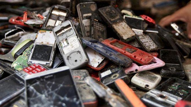 Uma tonelada de iPhones pode conter 350 kg de ouro