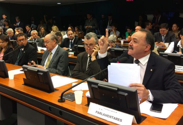 Deputado Mauro Pereira, relator do projeto do licenciamento 'flex'  © WWF / Clarissa Presotti